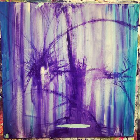 Purple Punk Artkingdom